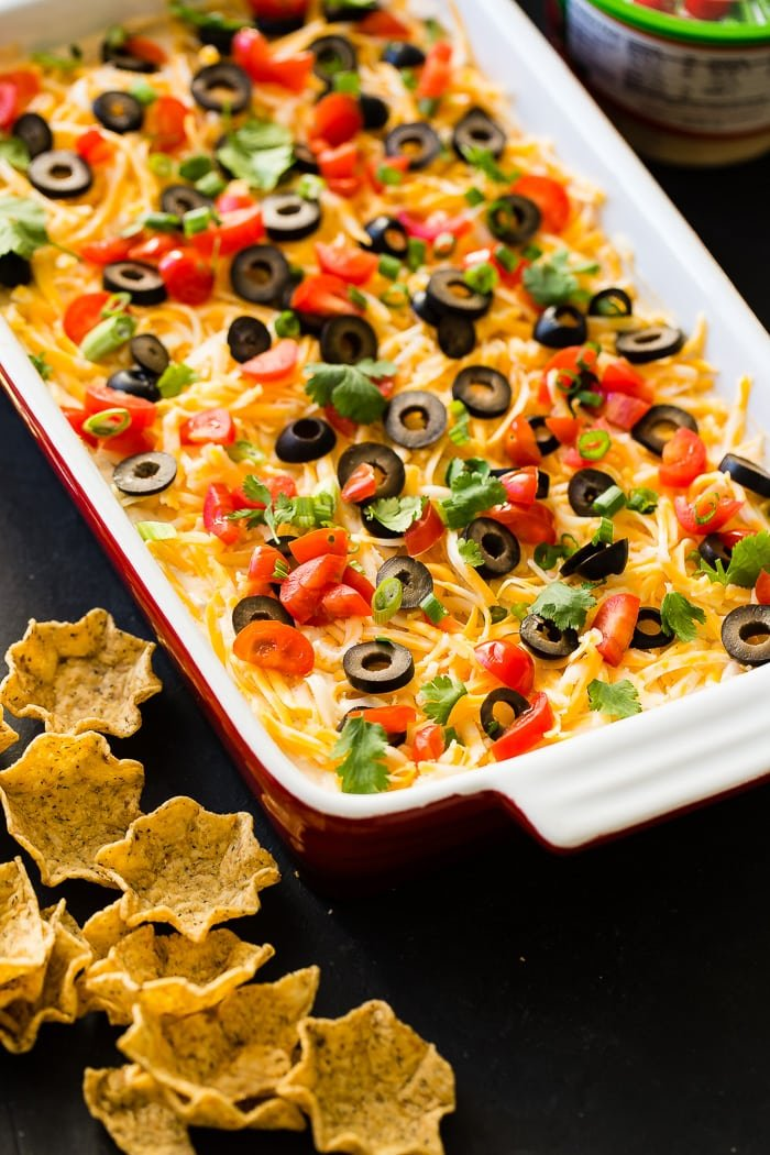 The Best Mexican 7 Layer Dip