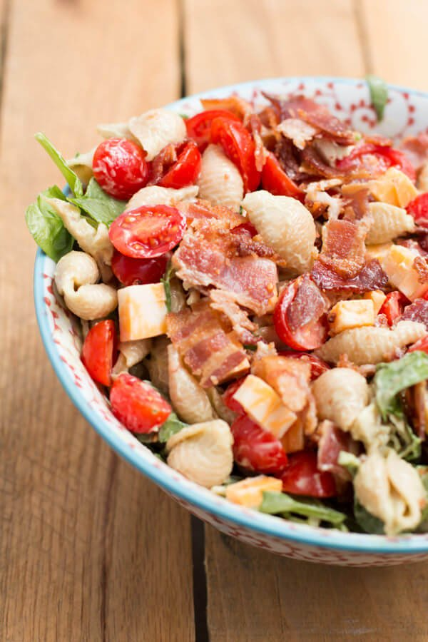 California Club Pasta Salad Recipe