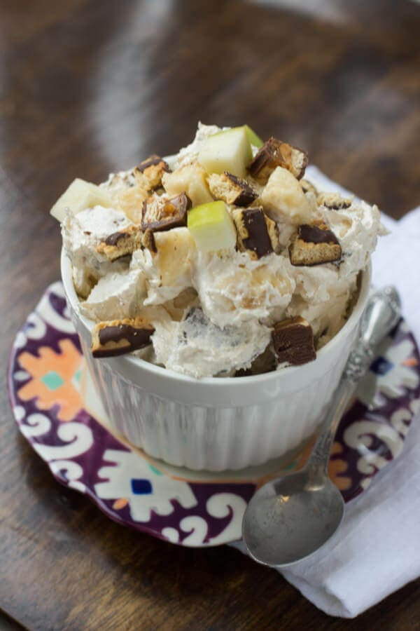 Cheesecake Snickers Salad