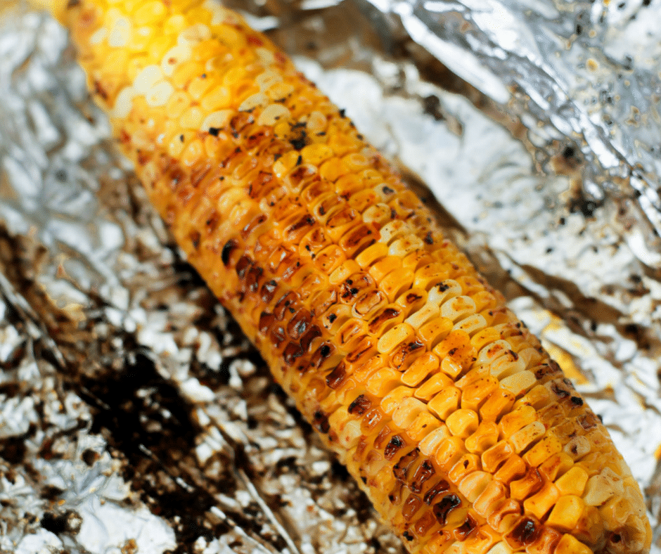 Chile Lime Grilled Corn on the Cob + Giveaway