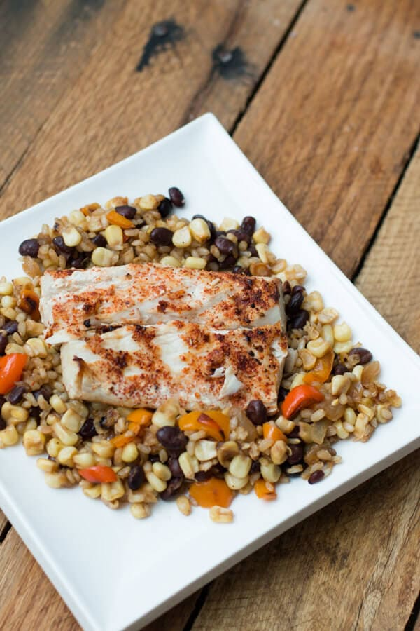 Citrus Alaskan Halibut
