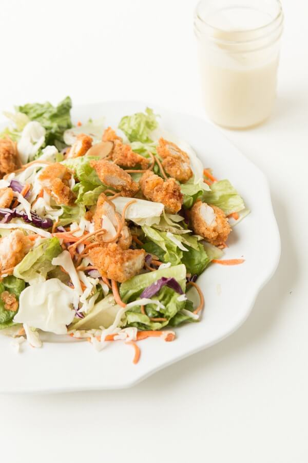 Copycat Applebee's Oriental Chicken Salad