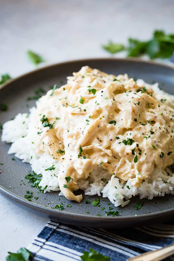 Image of Crockpot Chicken and rice
