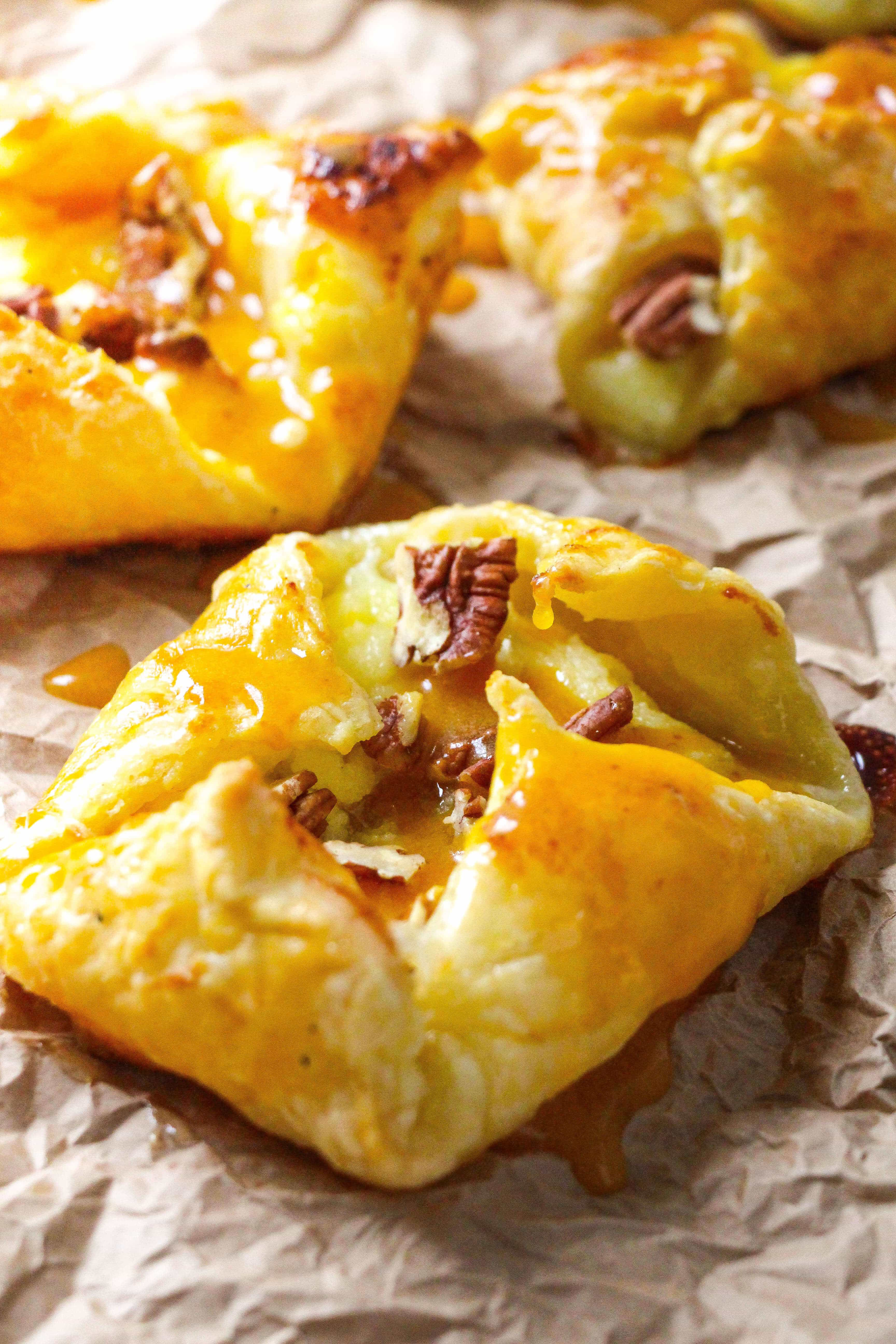 Easy Pumpkin Praline Danish