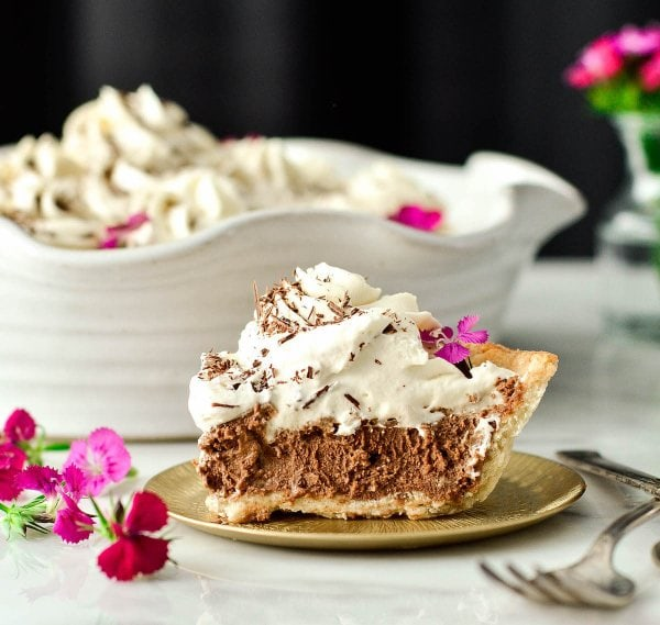 Homemade French Silk Pie from Scratch