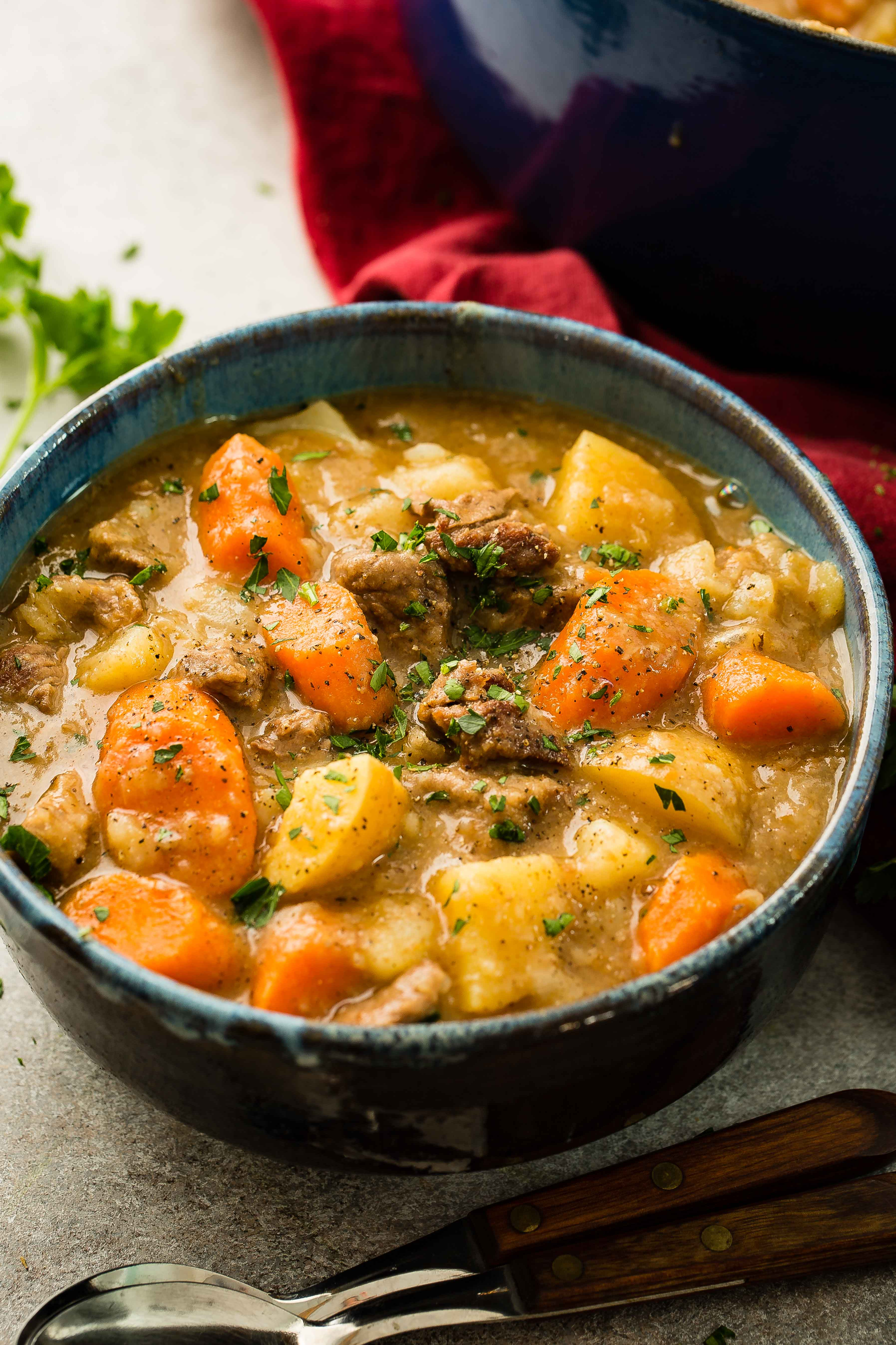 Old Time Beef Stew for Your Man