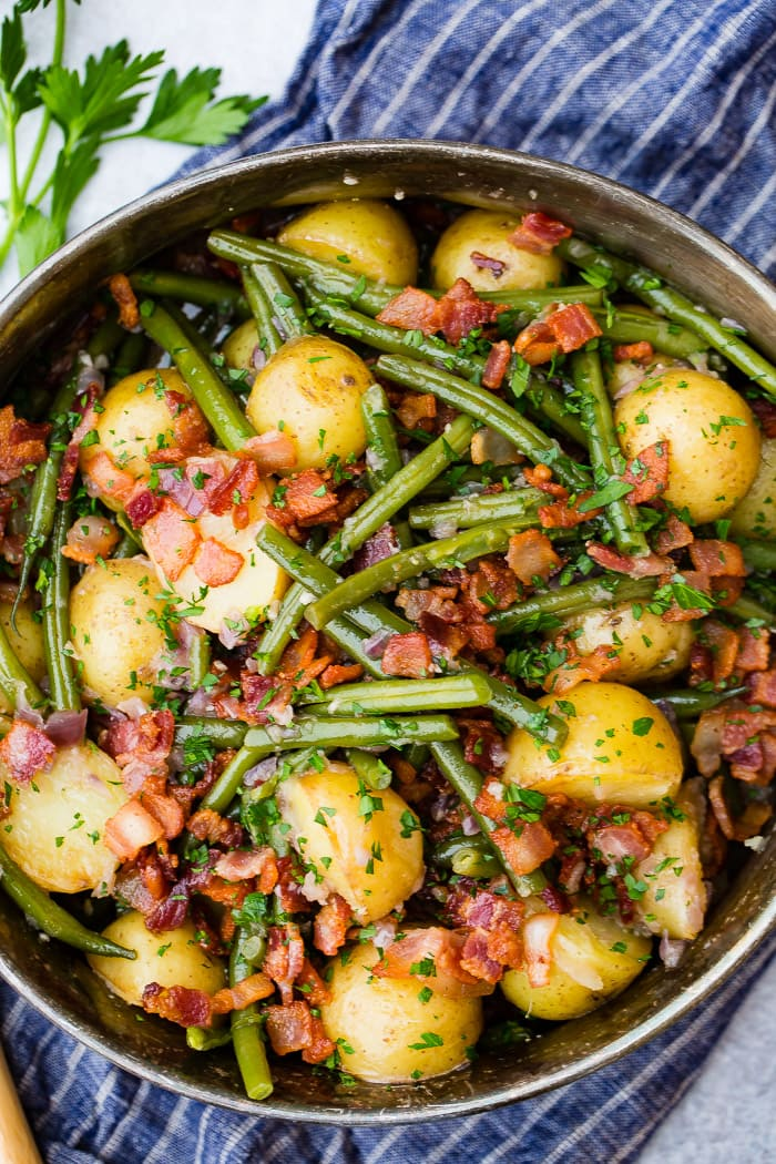 Instant Pot Green Beans and Potatoes