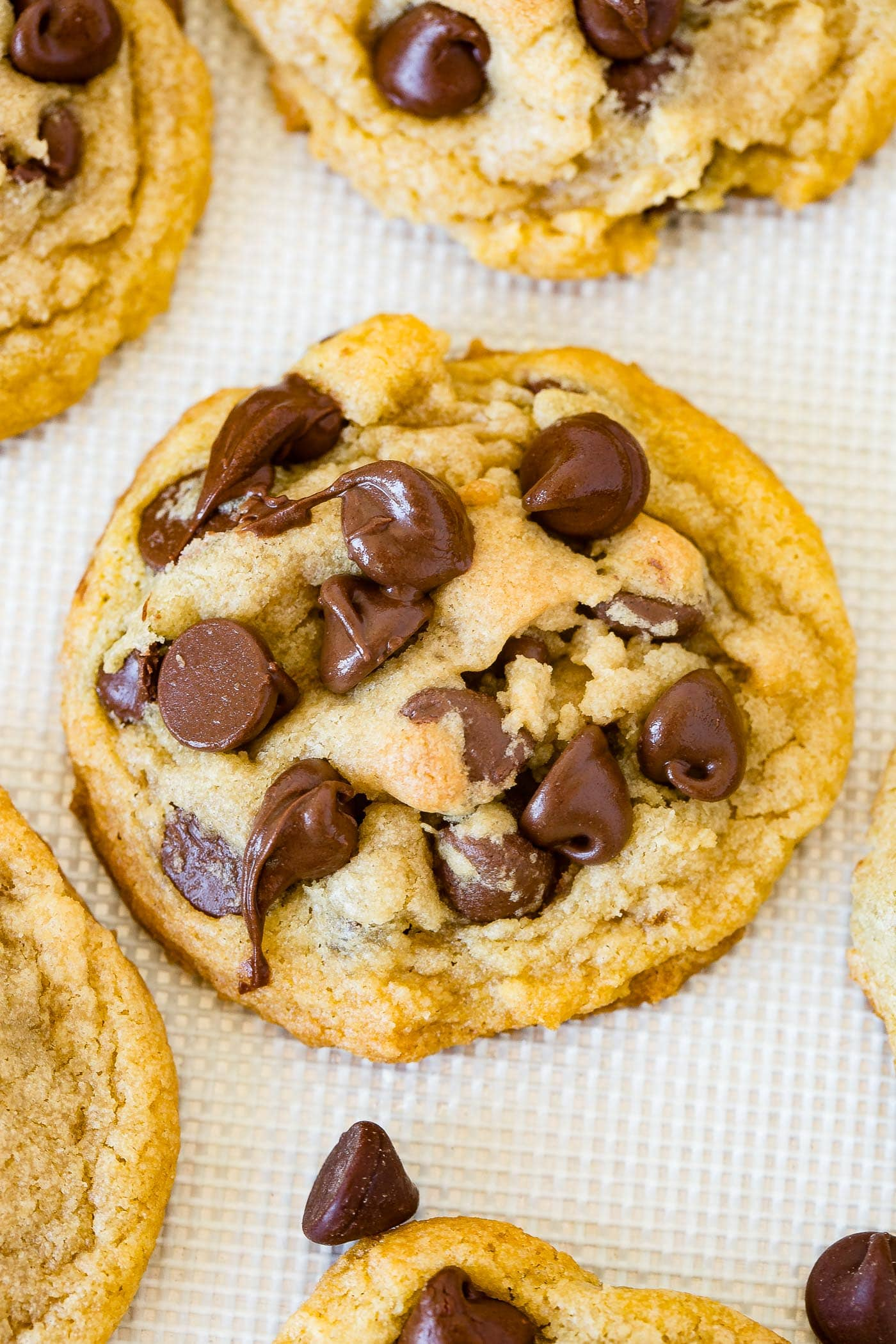 Pizza Factory Chocolate Chip Pudding Cookies