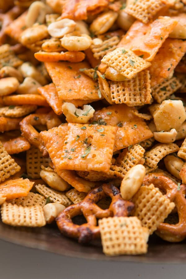 Ranch Slow Cooker Chex Mix