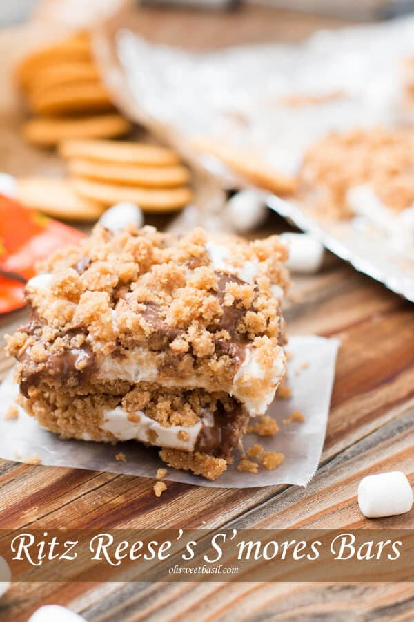 Ritz Reese's S'mores Bars