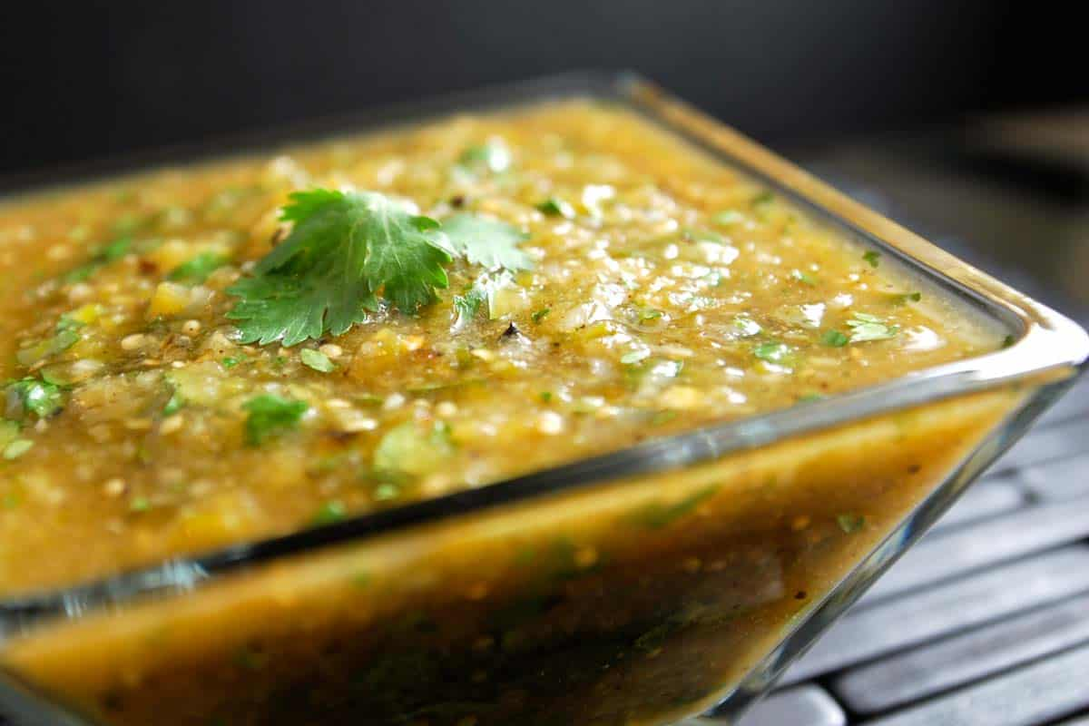 Image of Roasted Tomatillo Salsa Verde
