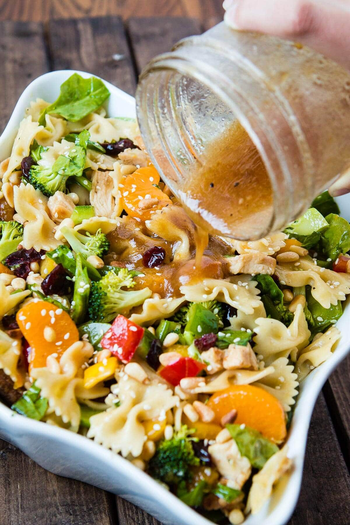 Teriyaki Chicken Pasta Salad