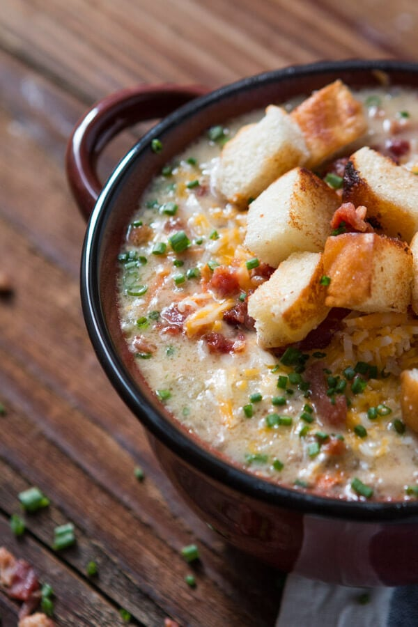 The Ultimate Cheeseburger Soup