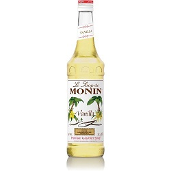 Monin Syrup Vanille Flavored 250 Ml
