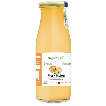 Nutripress Cold Pressed Juice Musk Melon 200 Ml