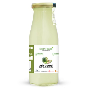 Nutripress Cold Pressed Juice Ash Gourd 250 Ml