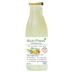 Nutripress Cold Pressed Juice Aloe Vera 200 Ml