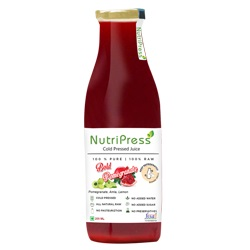 Nutripress Cold Pressed Juice Bold Pomegranate 200 Ml
