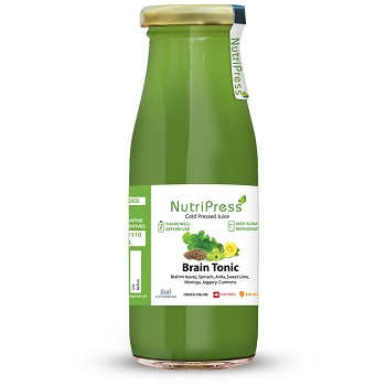 Nutripress Cold Pressed Juice Brain Tonic 200 Ml