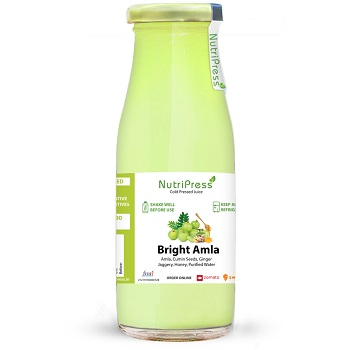 Nutripress Cold Pressed Juice Bright Amla 250 Ml