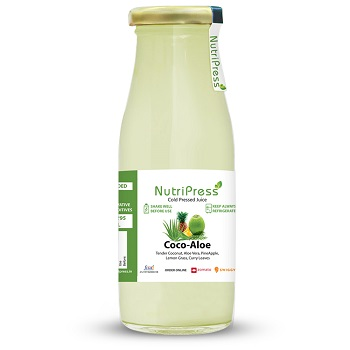 Nutripress Cold Pressed Juice Coco - Aloe 200 Ml