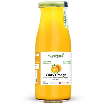 Nutripress Cold Pressed Juice Crazy Orange 200 Ml