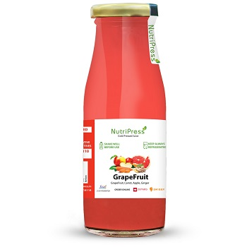 Nutripress Cold Pressed Juice Grapefruit 200 Ml