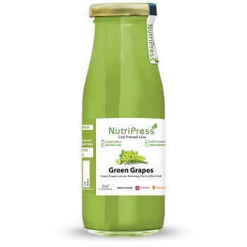 Green Grapes Cold Pressed Juice 250ml