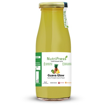 Nutripress Cold Pressed Juice Guava Glow 200 Ml