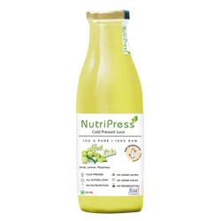 Nutripress Cold Pressed Juice Bright Amla 200 Ml