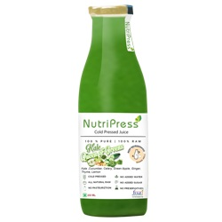 Nutripress Cold Pressed Juice Kale - Queen Of Greens 250 Ml