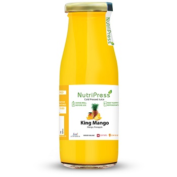 Nutripress Cold Pressed Juice King Mango 200 Ml