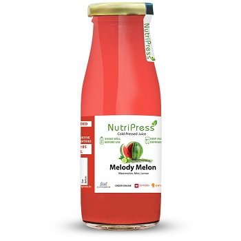 Nutripress Cold Pressed Juice Melody Melon 250 Ml