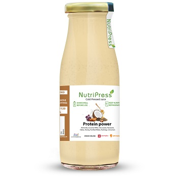 Nutripress Cold Pressed Juice Protein Power 250 Ml