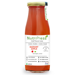 Nutripress Cold Pressed Juice Radiant Apple 200 Ml