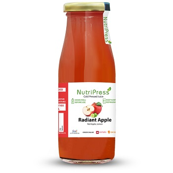 Nutripress Cold Pressed Juice Radiant Apple 250 Ml