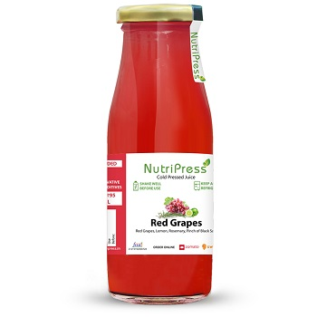 Nutripress Cold Pressed Juice Red Grapes 200 Ml