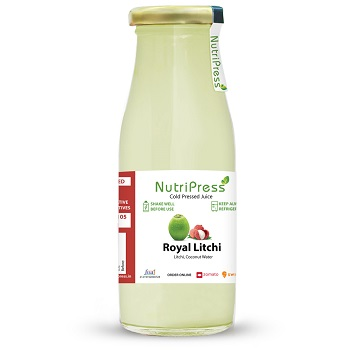 Nutripress Cold Pressed Juice Royal Litchi 200 Ml