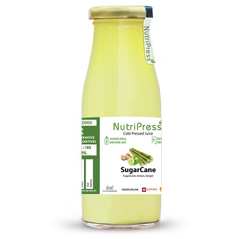 Nutripress Cold Pressed Juice Sugarcane 250 Ml