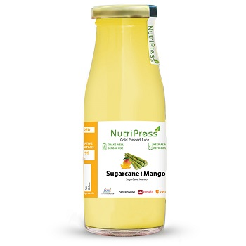 Nutripress Cold Pressed Juice Sugarcane+mango 250 Ml