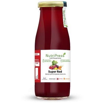 Nutripress Cold Pressed Juice Super Red 200 Ml
