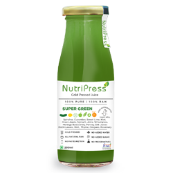 Nutripress Cold Pressed Juice Super Green 200 Ml