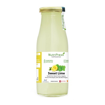 Nutripress Cold Pressed Juice Sweet Lime 200 Ml