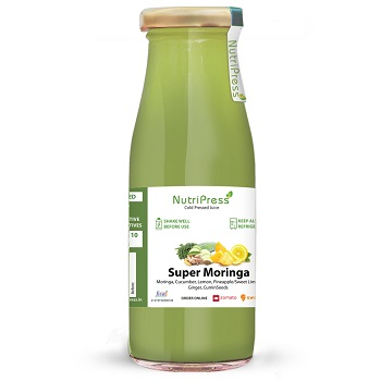 Nutripress Cold Pressed Juice Super Moringa 200 Ml