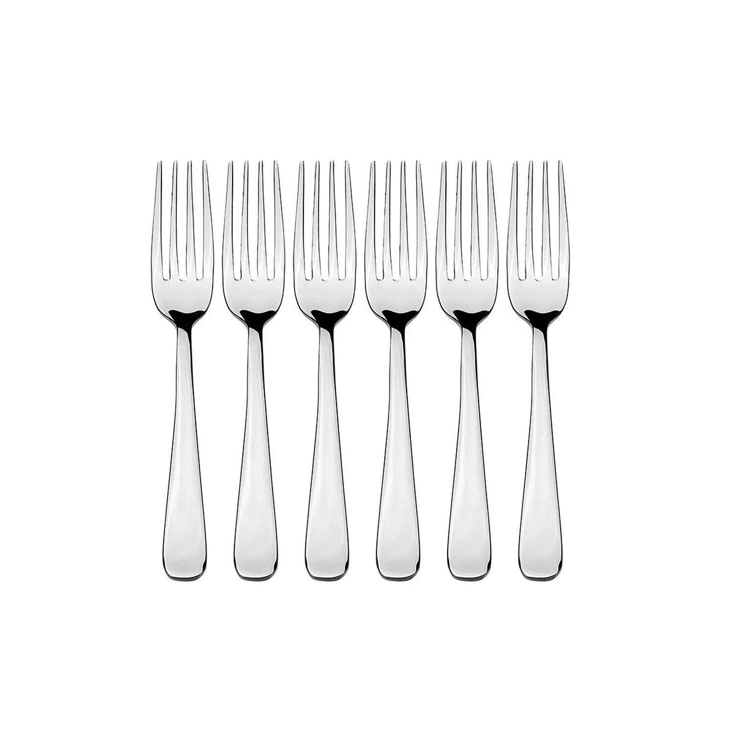 Goldtree Stainless Steel Fruit Fork Spoon (set Of 12 Pcs)