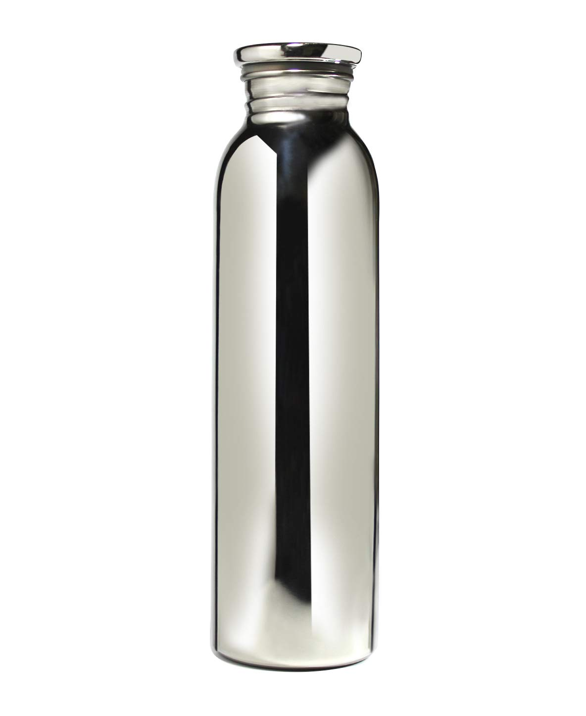 Superbazaar Ultra High Quality 100% Stainless Steel Bottle (no Plastic At All) 1000 Ml - 1 Pc