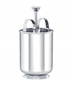 Superbazaar Stainless Steel Meduvada Maker With Stand - 1 Pc