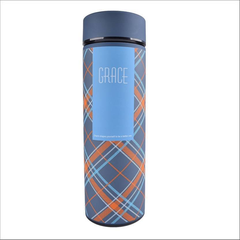 Goldtree Double Wall Vacuum Insulated Stainless Steel Water Bottle (multi Color) 500 Ml Flask  (pack Of 1, Multicolor)