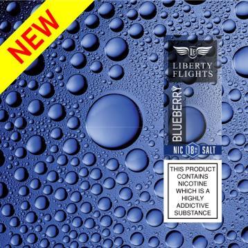 Blueberry Nic Salt E Liquid