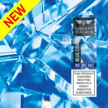 Blue Crush Nic Salt E Liquid